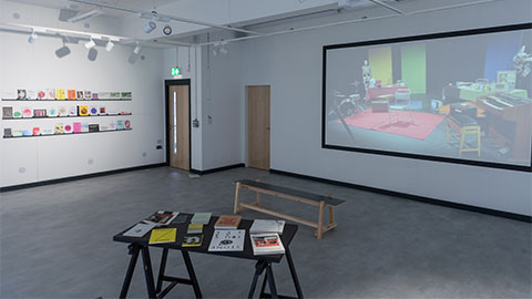 Martin Hall exhibition space