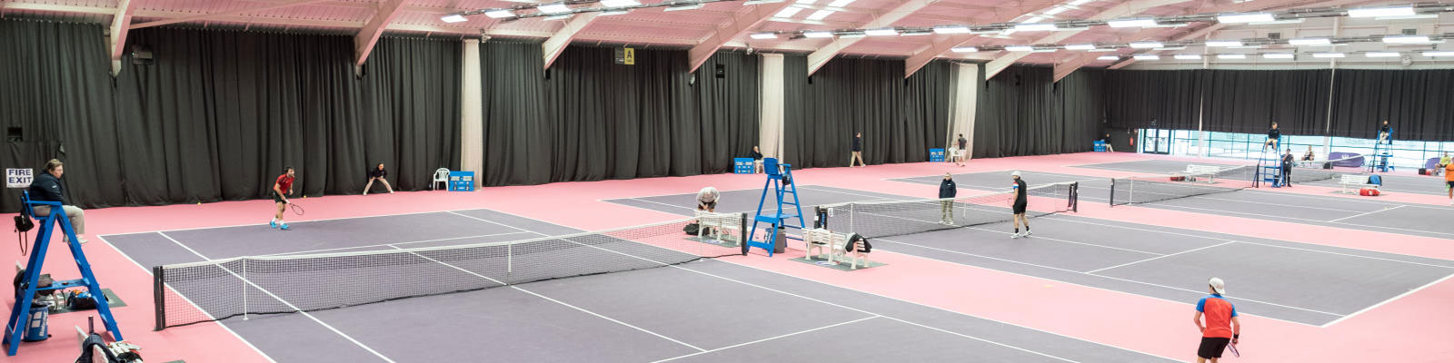 the Tennis Centre at Loughborough University