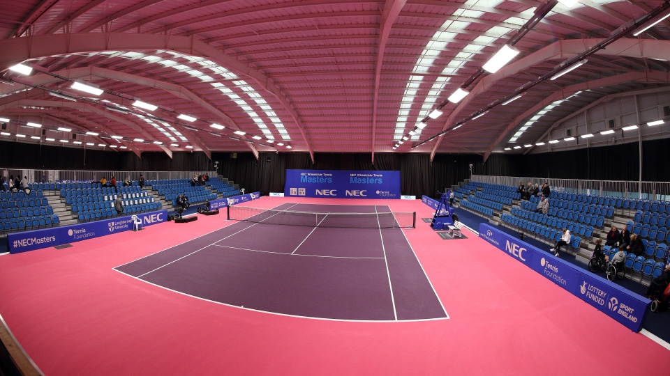the Tennis Centre