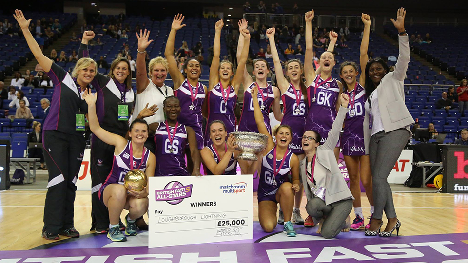 Loughborough Lightning Set To Defend British Fast5 All