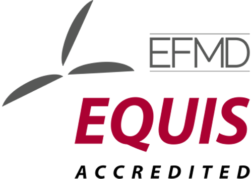 EFMD EQUIS Accredited Degree logo