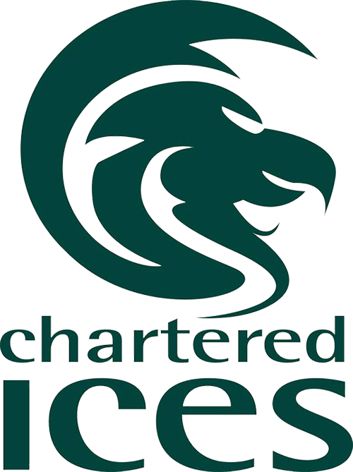 Chartered ICES logo
