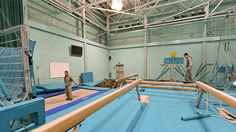 gymnastics performance and research centre