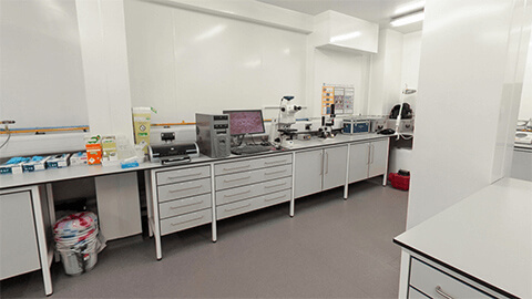 microbiological lab
