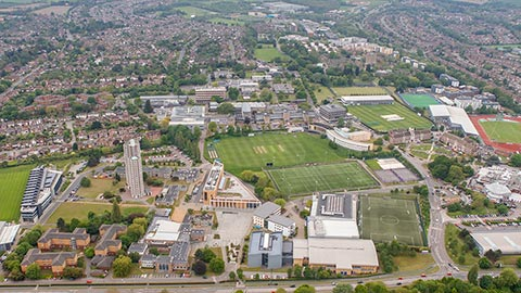 Loughborough campus