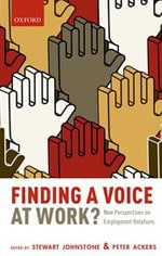 Finding a Voice at Work book cover