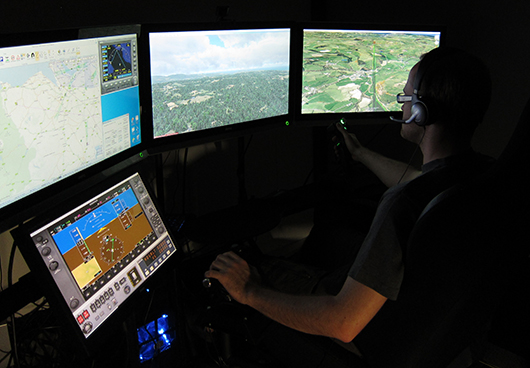 Ground control station for autonomous unmanned aerial vehicle