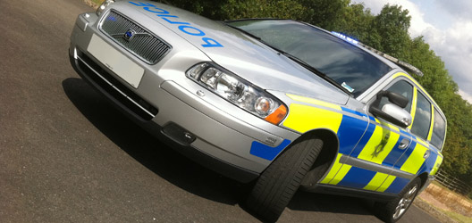 The Police livery design now used across the UK