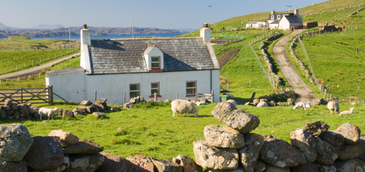 Scottish Croft.  Photo supplied by iStock Photography