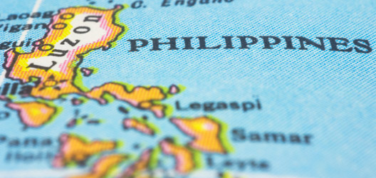 Map of Philippines. Image: ThinkStock