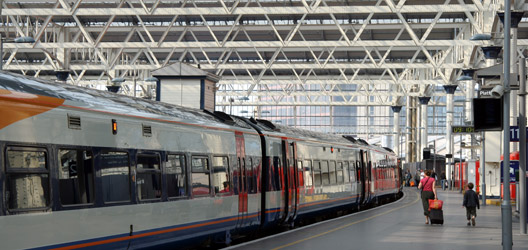 Railway station.  Image: ThinkStock