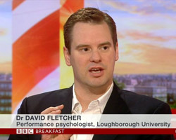 Dr David Fletcher, a performance psychologist from Loughborough University, says that England can recover from their short-lived World Cup campaign. - BBC_Breakfast_David-Fletcher_21-06-2014