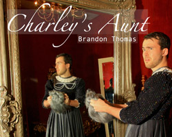 Charley's Aunt cropped poster