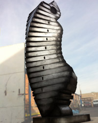 Twister sculpture by John Atkin