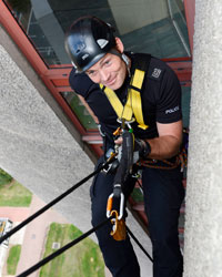 Mod Police Recruitment >> September | 158_Abseil_Towers | Loughborough University