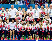 photo of all Team GB gold medal winners at Rio 2016
