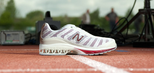 Working with New Balance and UK Sport