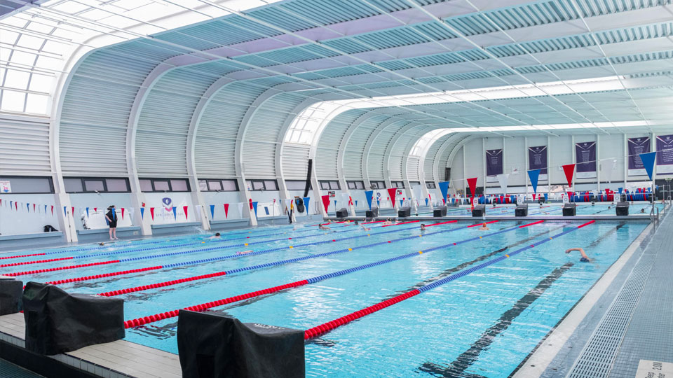 University's swimming pool