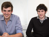 Event Catch founders, Peter Bailey and Ben Oddie