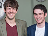 EventCatch founders, Benjamin Oddie and Peter Bailey