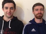 Apache Fitness founders, Barnaby Galiffe and Andrew Bridge