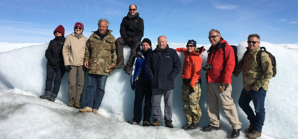 Members of parliament visit Greenland