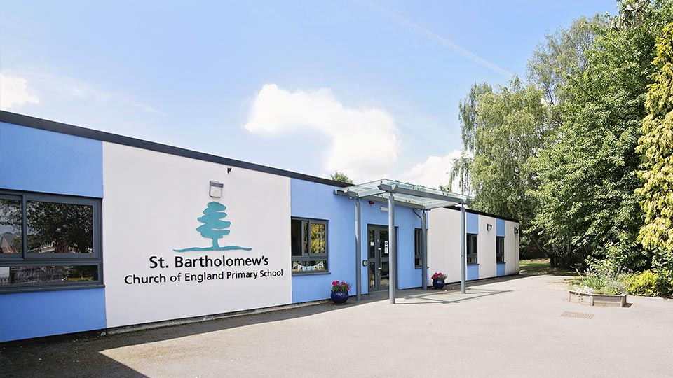 St Bartholomew's C Of E Primary School.