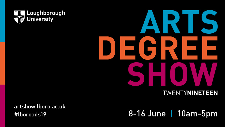 graphic used for 2019 Arts Degree Show