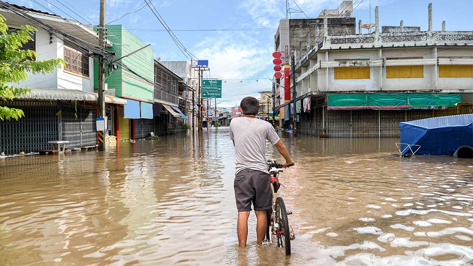 Flooding in Asia.