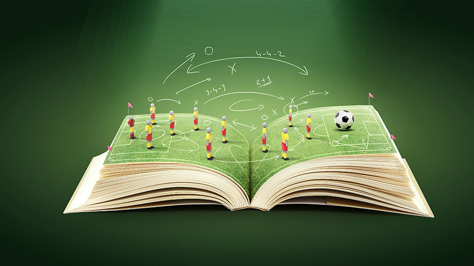 A book of football gameplay