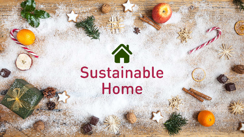 Sustainable Home logo.