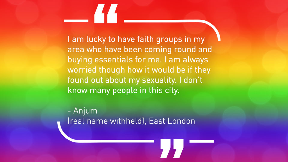 Quote from LGBTQ case study.