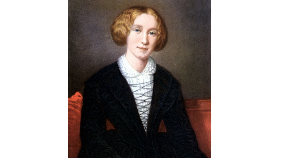 George Eliot portrait.