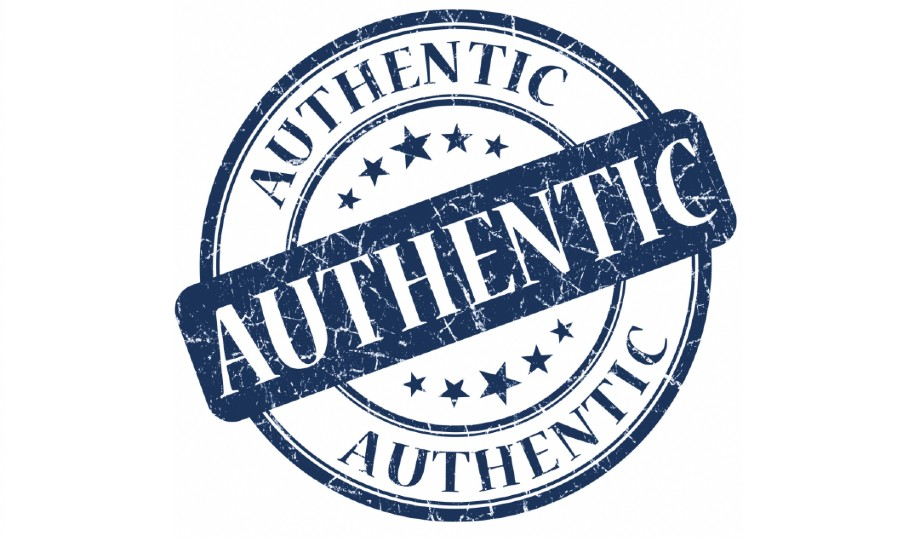 Authentic logo.