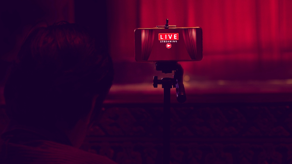 Live streaming a theatre show