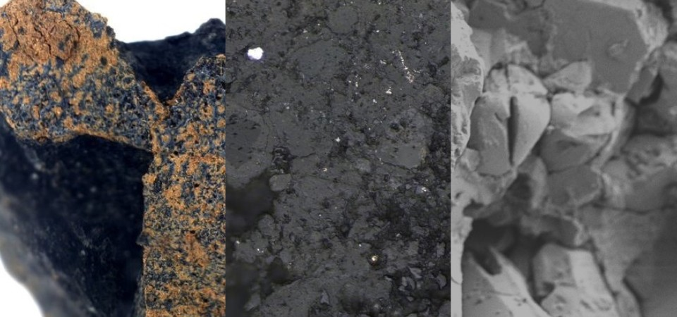 A 4.6-billion-year-old meteorite found lying in the imprint of a horseshoe is likely a remnant of cosmic debris left over from the birth of the solar