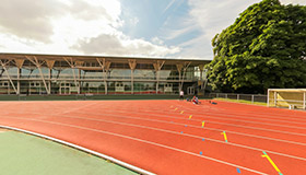 High performance athletics centre outdoor
