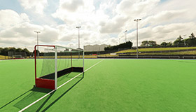 Hockey based water pitch