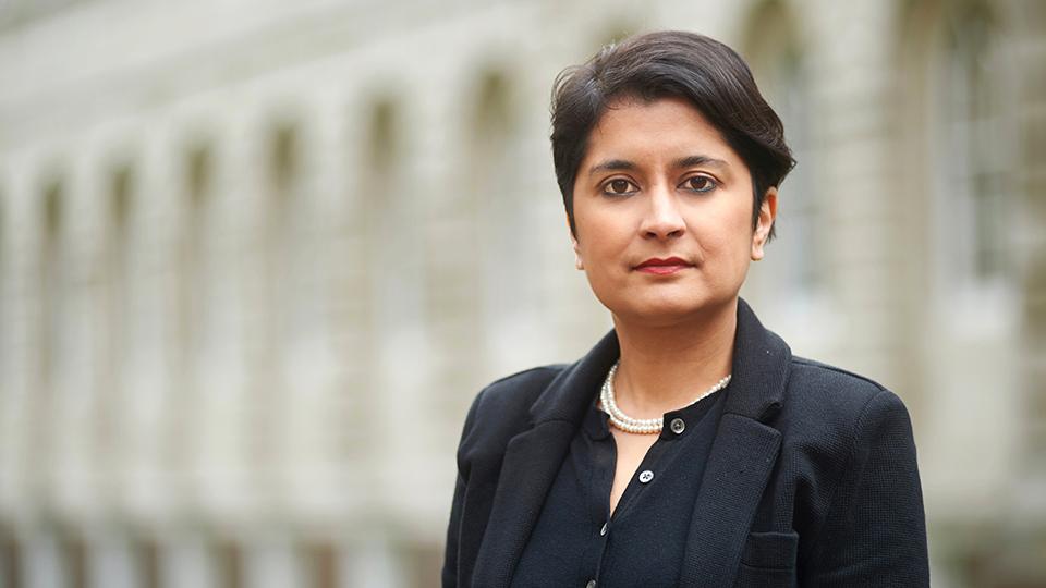 headshot of Shami Chakrabarti