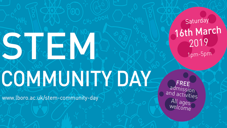 poster to promote STEM Day