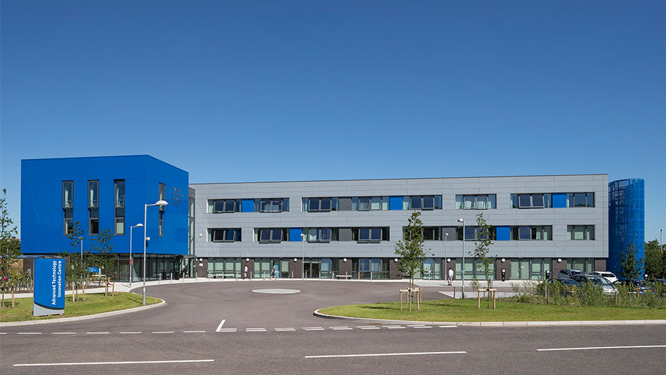 Advanced Technology Centre on Loughborough University Science and Enterprise Park LUSEP