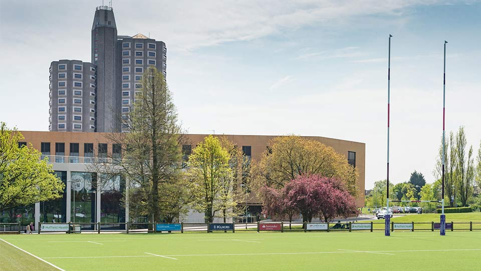 Pictured is the Loughborough campus.