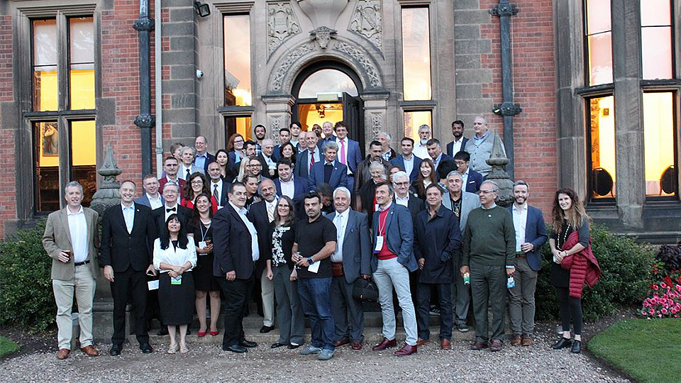 A group photo of attendees at the ASHRAE Chapters Regional Conference 2018