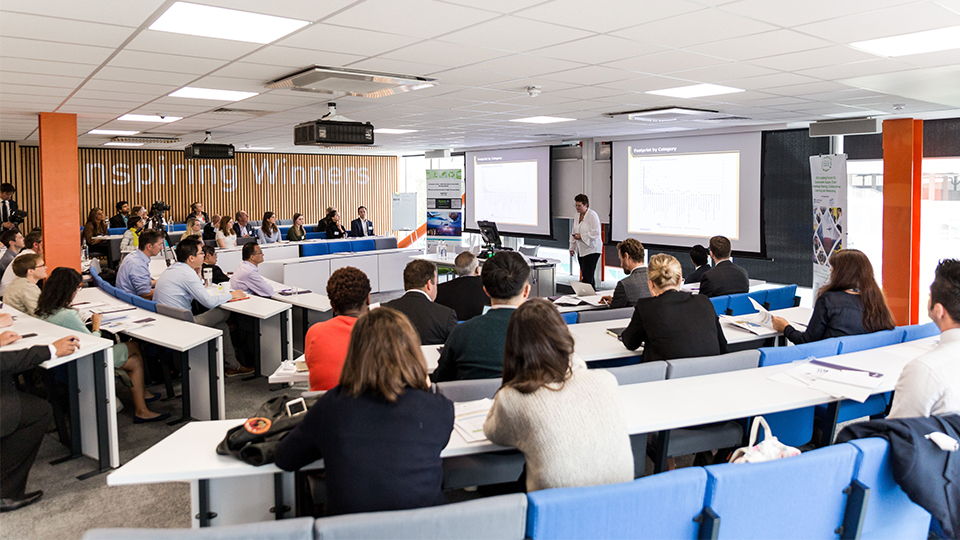 Photo of previous Decision Sciences event in lecture theatre