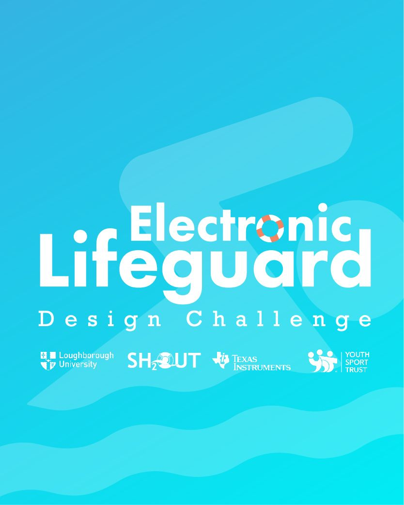 Pictured is the Electronic Lifeguard Design Challenge logo.