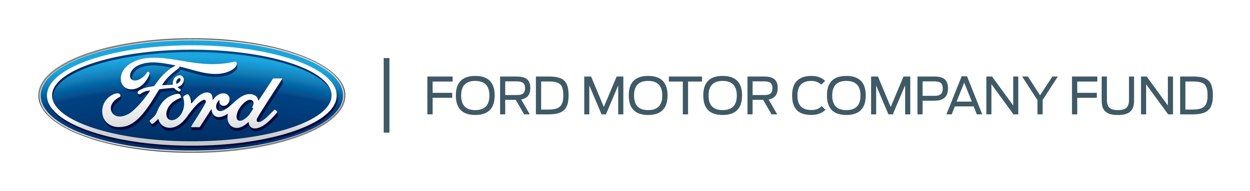 logo of ford motor company fund
