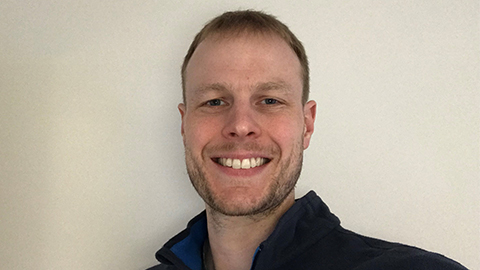 Andrew Shepherd, Loughborough Sport's new Performance Nutrition Lead.