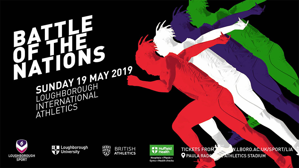 Battle of the Nations - Loughborough International Athletics