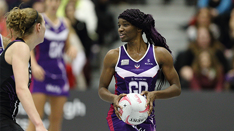 Ama Agbeze has been appointed an MBE for services to Netball