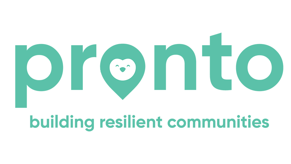 green logo for Pronto - winning concept for the Ford Fund Mobility Solutions Challenge